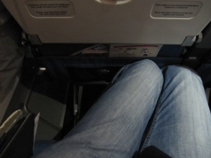 Turkish torture of sitting 10.5 hours in this position