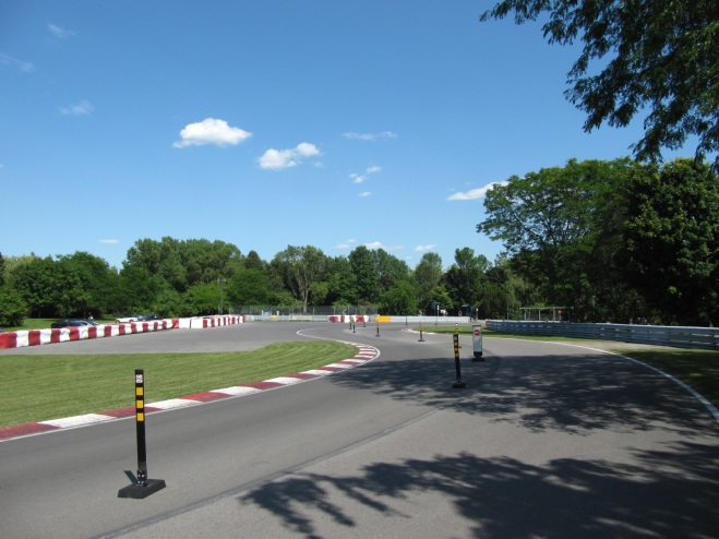 The second chicane