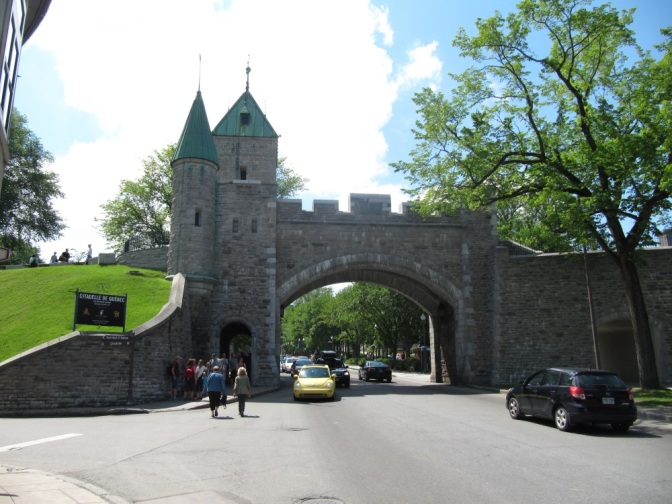 Fortified walls of Quebec