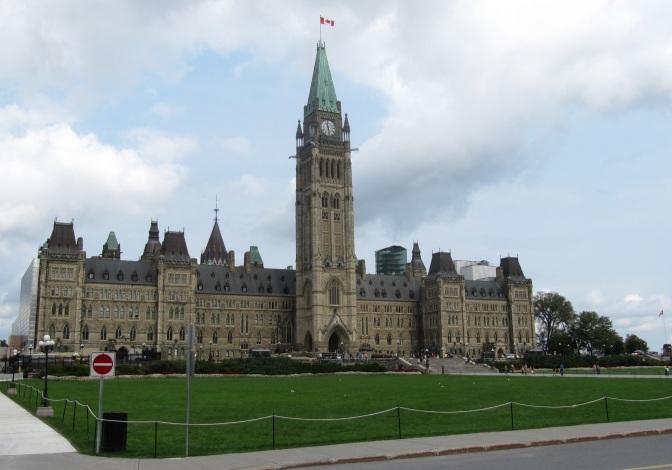 Parliament building is impressive