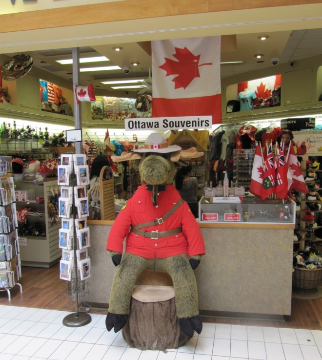 A nice mountie inviting to gift shop
