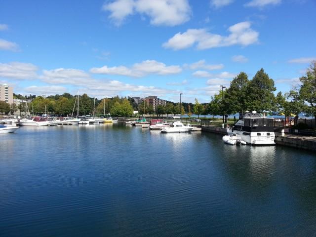 Brockville marina