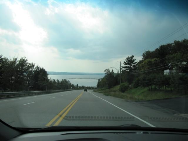 Road to Saguenay