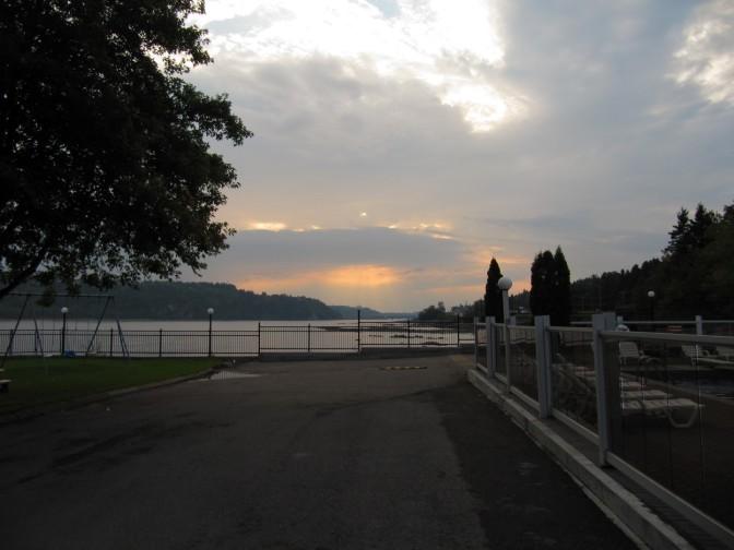 Dawn in Chicoutimi