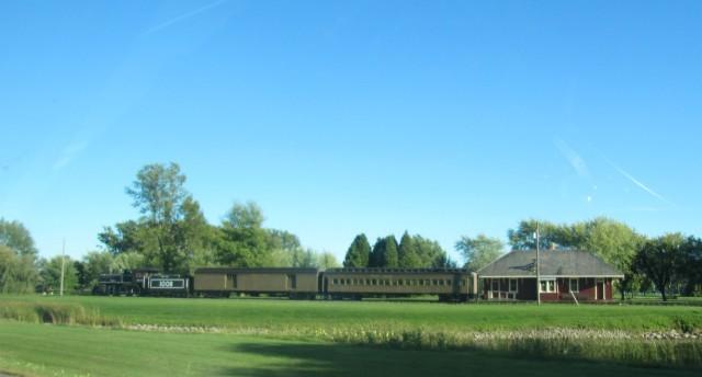 Train at Upper Canada Village