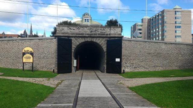 Canada's first railroad tunnel