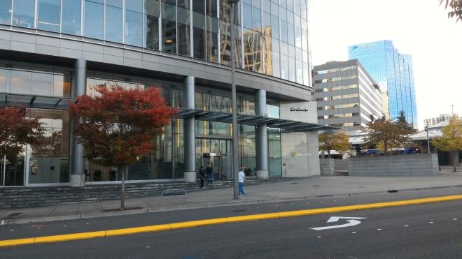 One of Microsoft buildings in Bellevue