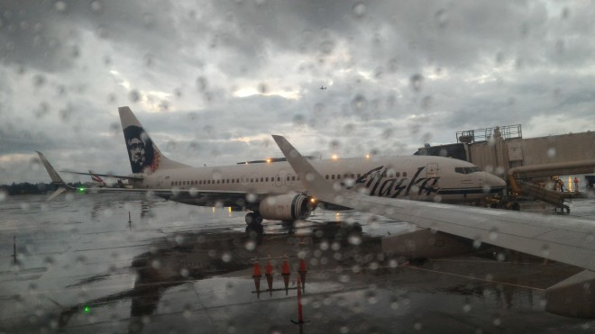 There are direct flights to Alaska from Seattle. I wish I could change planes :)