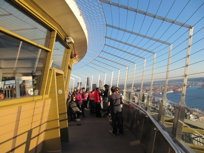 The outer observation deck