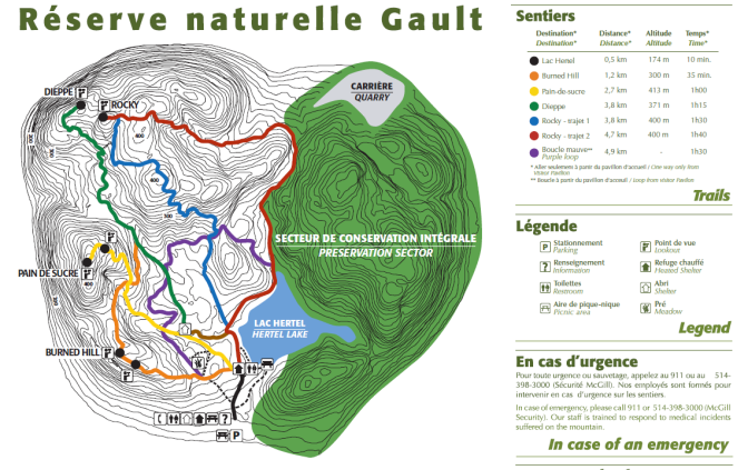 Trail maps. Taken from official website (click to visit)
