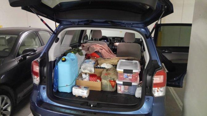 full trunk subaru
