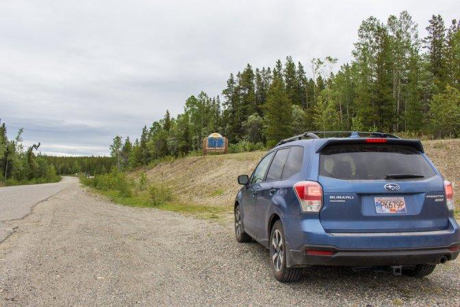 Yukon border