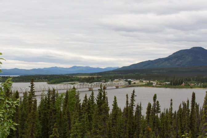 Teslin on Alaska Highway